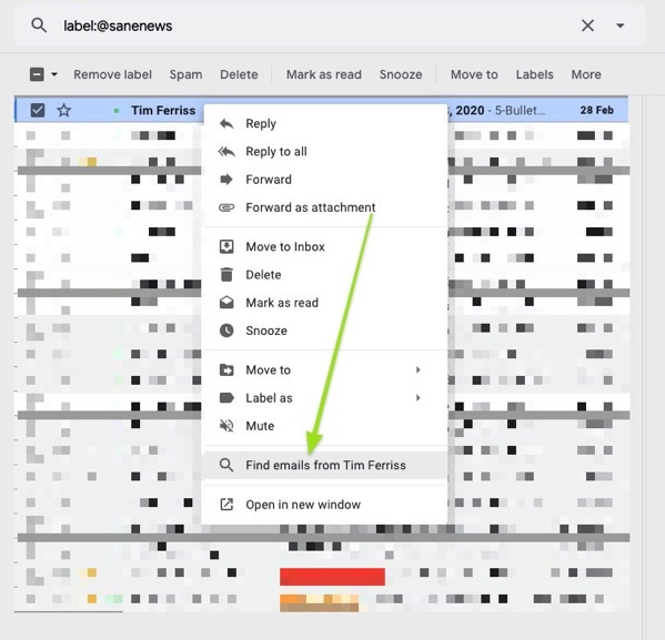 Gmail simple but great tool for declutter your mailbox [not only the inbox]